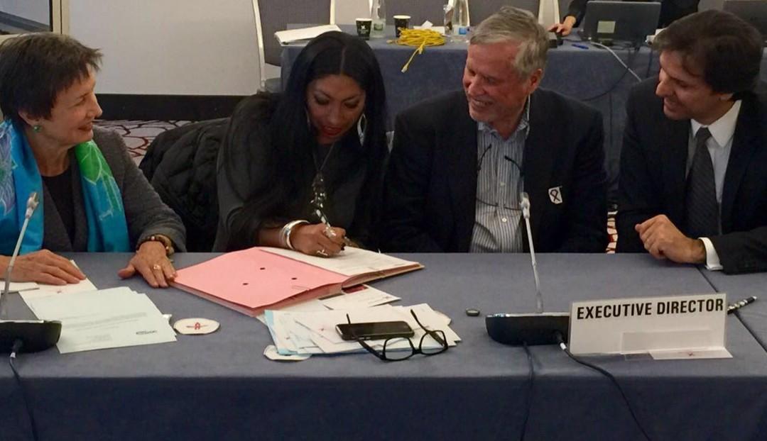 UNITAID Signs Civil Society Engagement Plan
